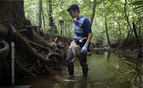 Collecting water quality data